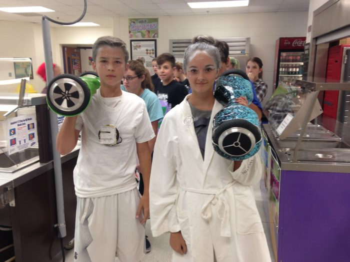 Eighth Grade Students Compete in the Hunger Games | Holdrege