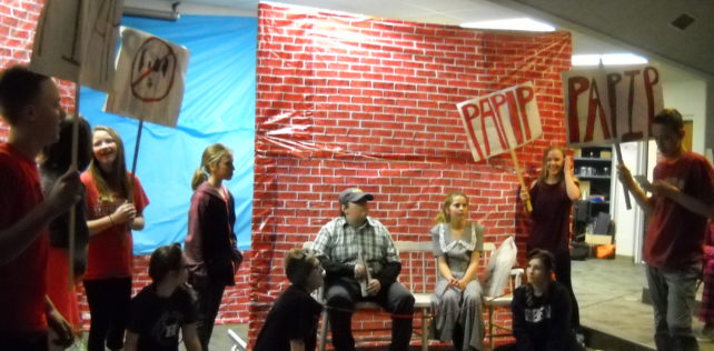 "7th Grade Reading Performs Play ""Imperfect Proposal"""