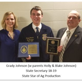 Holdrege FFA Shines at State Convention