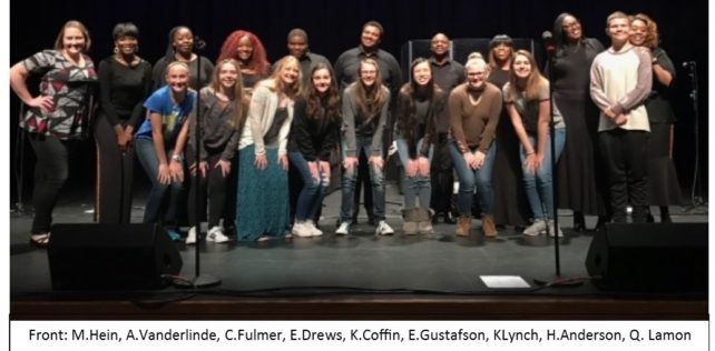 HHS Choir Members Sing with Harlem Gospel Choir