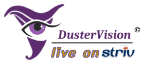 DusterVision Live on Striv Logo