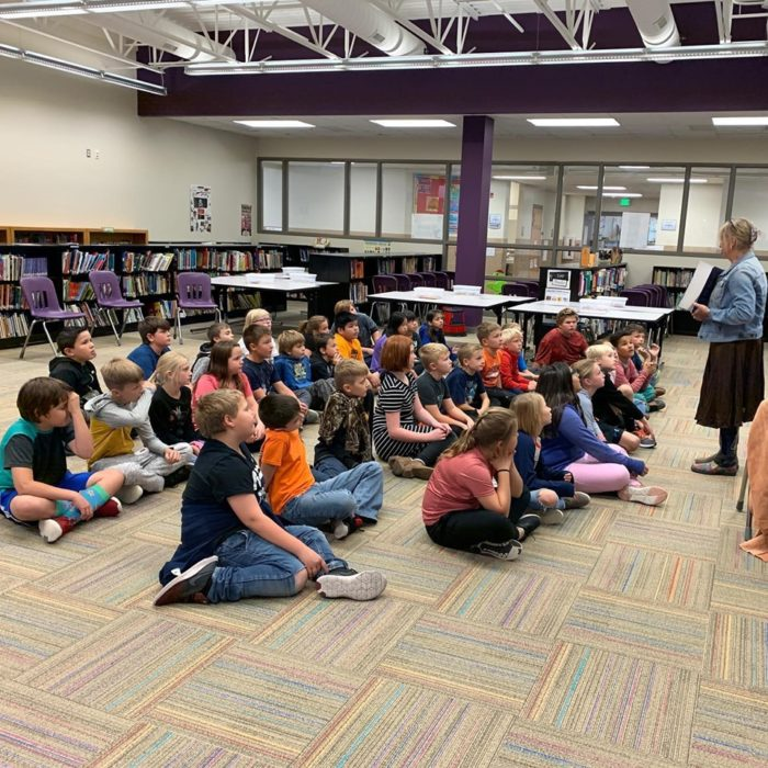 Cowgirl Peg Visits HES