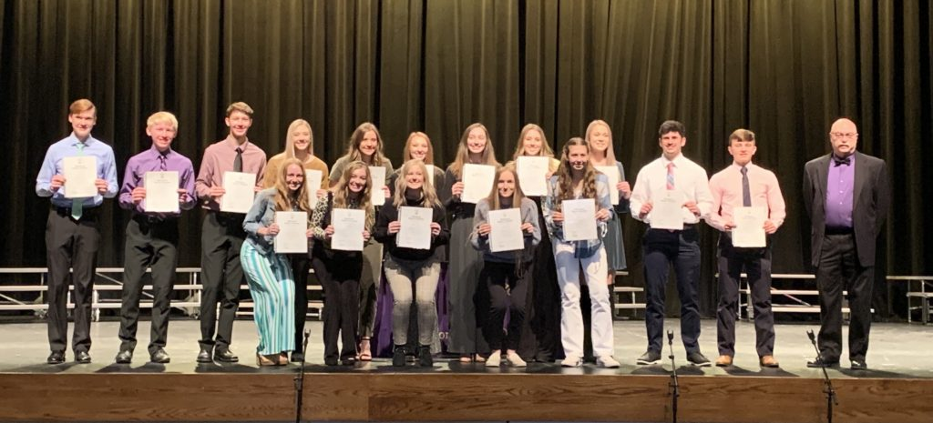 2020 National Honor Society New Members